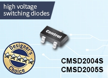 CMSD2004S & CMSD2005S: High Voltage Switching Diodes