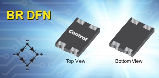 CBRDFSH Series Schottky Bridge Rectifiers in new BR DFN