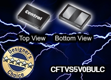 CFTVS5V0BULC: Tiny but powerful Ultra Low Capacitance Transient Voltage Suppressor